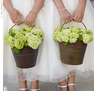 Flower Girl Buckets