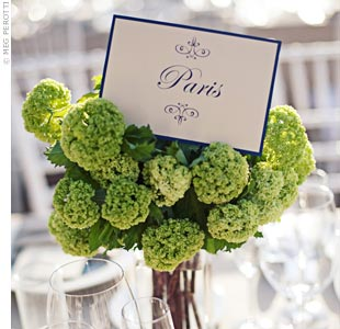 Green Floral Centerpieces