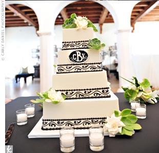 Modern Sqaure Cake