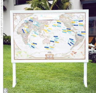 Escort Card Map