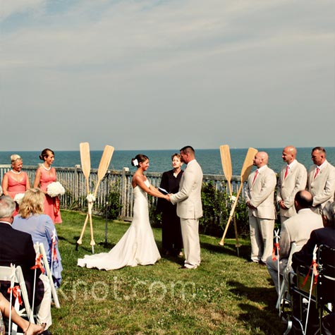 Pelham House Resort Wedding Ceremony