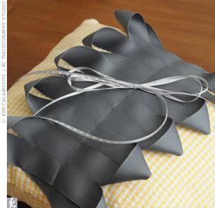 Ribbon Ring Bearer Pillow