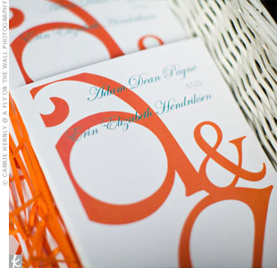 Orange Ceremony Programs