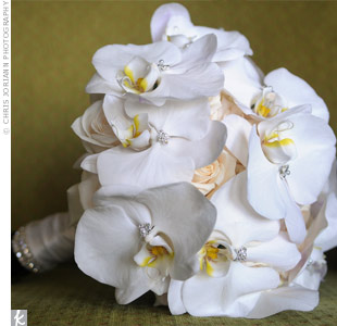 Orchid and Rose Bouquet
