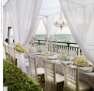 Oceanfront Wedding Cabanas