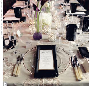 Black and Ivory Decor