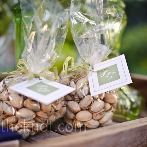 Pistachio Wedding Favors