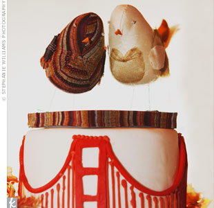 Golden Gate Bridge Cake