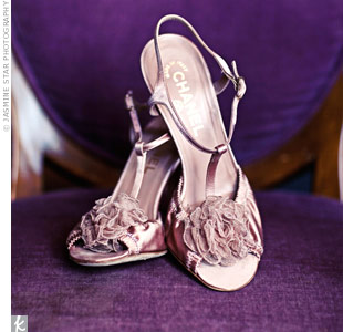 "Meg says she found her ""shoe soul mate"" in these vintage Chanel heels."