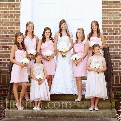 weddings light brown bidesmaid dresses
