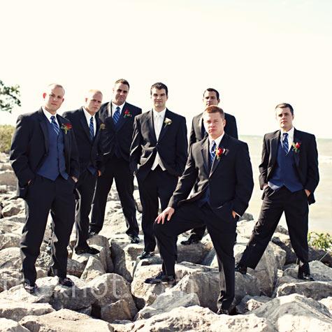 Navy Vest Formalwear
