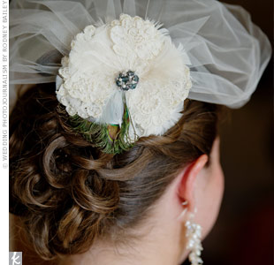 Feather Fascinator Hairpiece