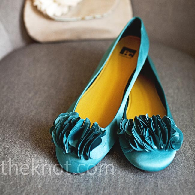 Teal Wedding Shoes 009 - Teal Wedding Shoes