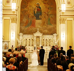 Holy Rosary Church Wedding