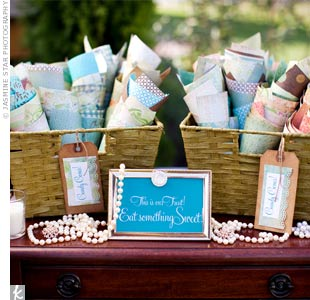 Vintage Wedding Candy Bar