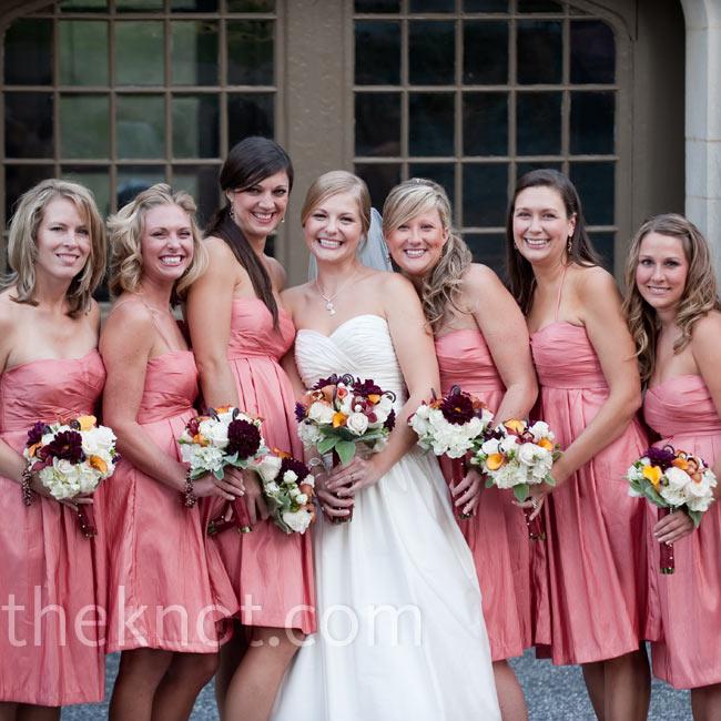 Bridesmaid Dresses Terracotta 112