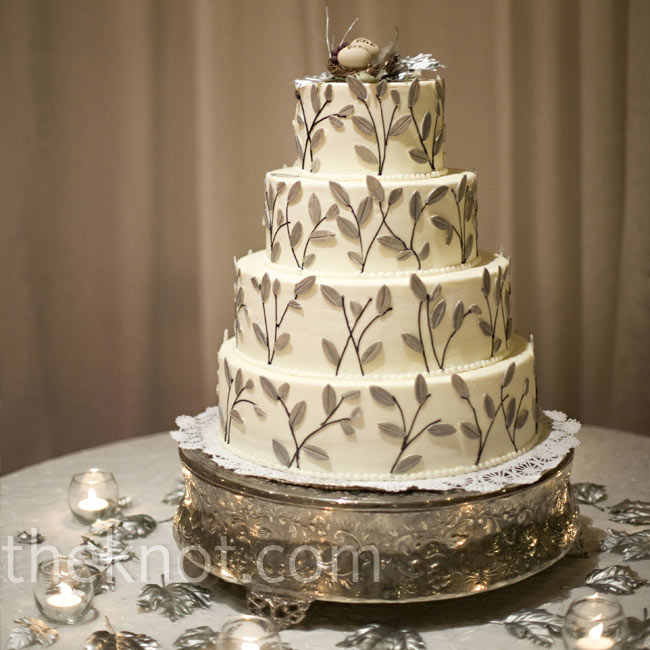 fiona s cakes severna park md cake gray metallics neutrals silver