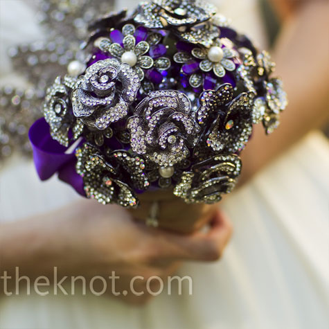 Jewelry Bridal Bouquet
