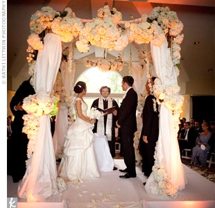 Floral Wedding Huppah