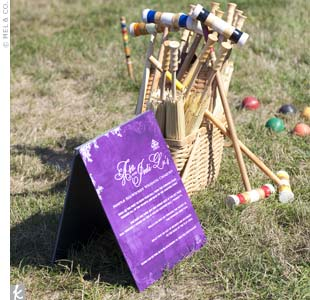 Outdoor Wedding Lawn Games