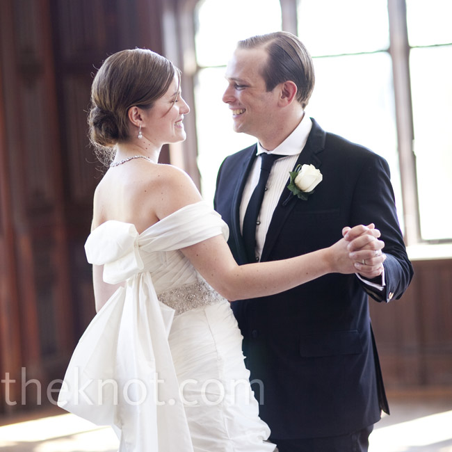 """The couple chose """"Hallelujah"""" by Leonard Cohen for their first dance (they both love the song) and asked the band to play Jeff Buckley's version."""