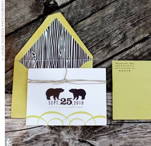 Black Bear Invitations