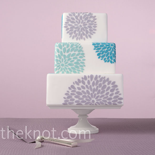 Bloom bursts are undeniably playful. Hint: The accents will work in any color!Cake: EatCakeBeMerry.com
