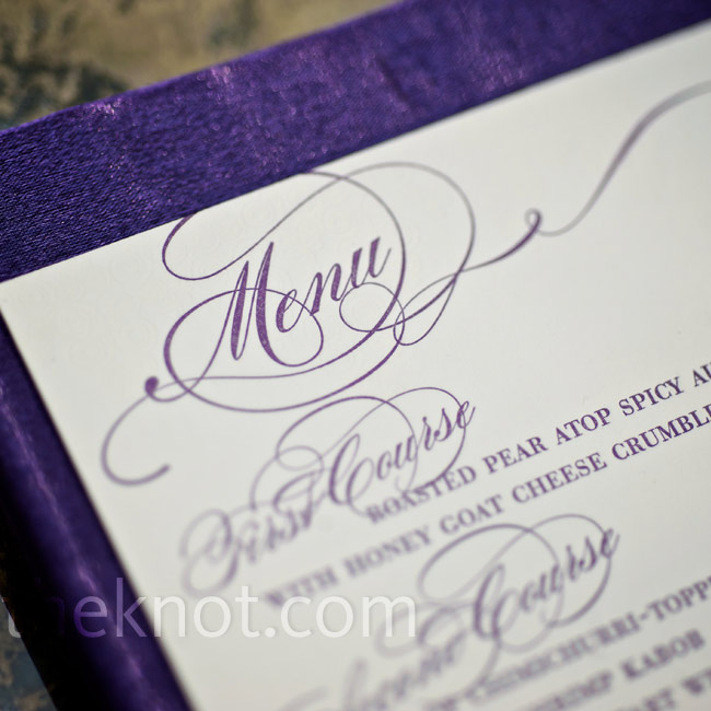 A flowing script font added a whimsical touch to the cards.
