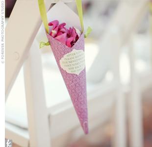 Flower Petal Cones