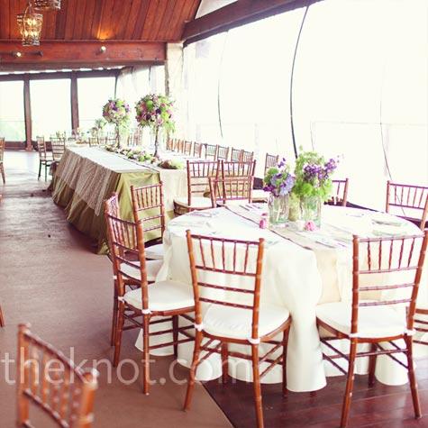 Southern Style Wedding Reception