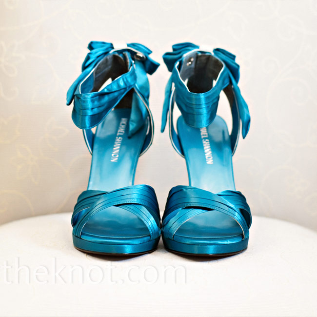 Teal Wedding Shoes 008 - Teal Wedding Shoes