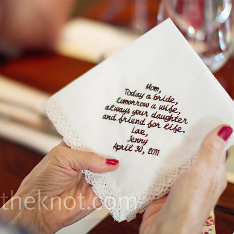 Embroidered Handkerchief Gifts