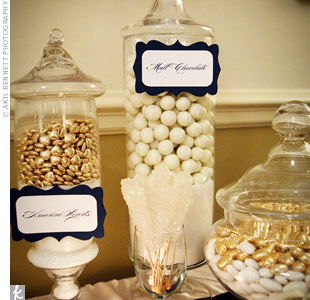 To satisfy Shannon's sweet tooth, the couple dreamed up an entire room filled with desserts, including homemade marshmallows.