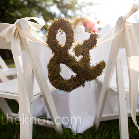 Moss Ampersand Decor