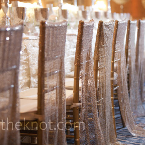 Silver Reception Decor