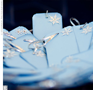 Snowflake Wishing Tree Tags