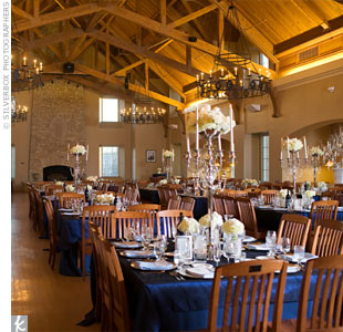 Rustic Winter Reception