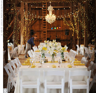 Rustic Reception Chandelier