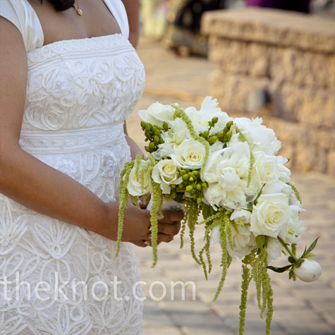 White Cascade Bouquet