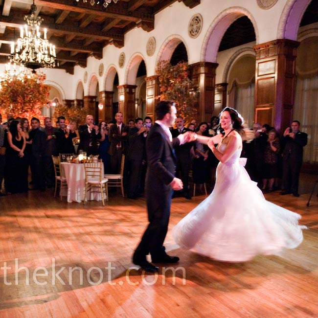 "For their first dance the couple chose ""The Best of Friends"" sung by Pearl Bailey from the Disney animated movie The Fox and the Hound."