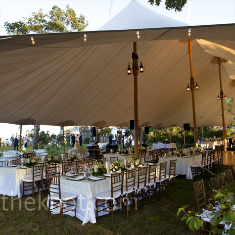 Sailcloth Tent Reception