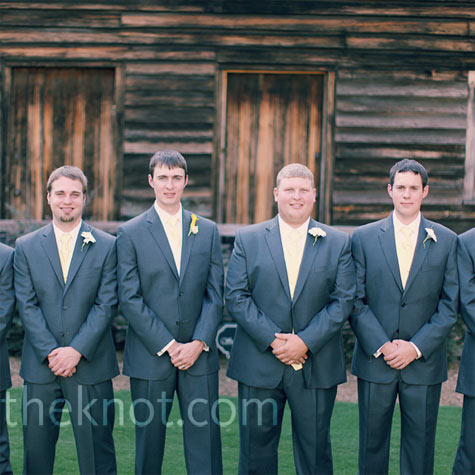 Gray Wedding Suits