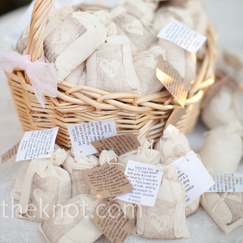 Grits Favor Bags