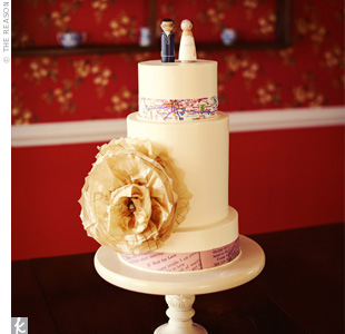 Paper Cake Decor