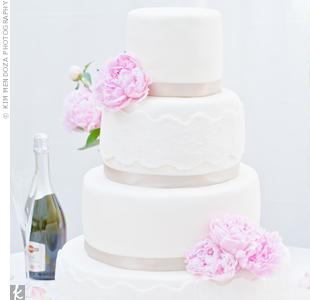 Fondant Lace Cake