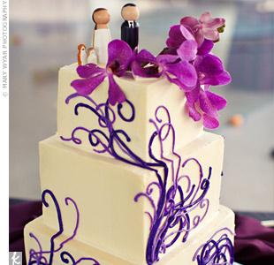 Purple Swirl Cake