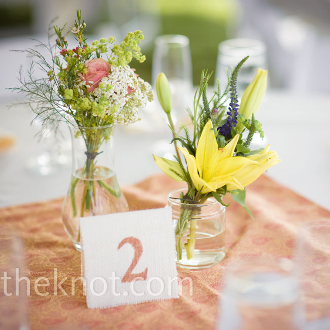 Floral And Herb Centerpieces