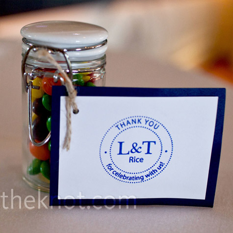 Skittles Wedding Favors