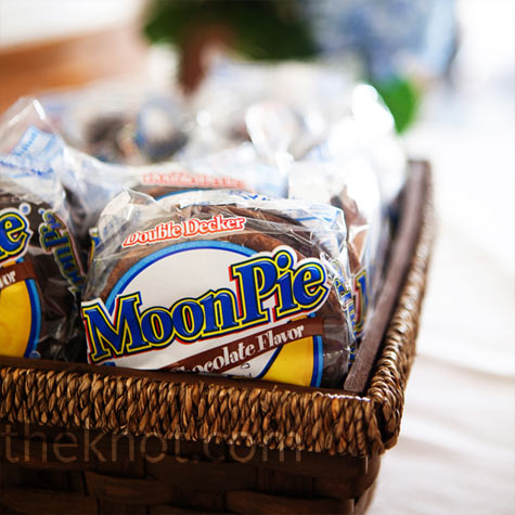 Chocolate Moonpie Favors