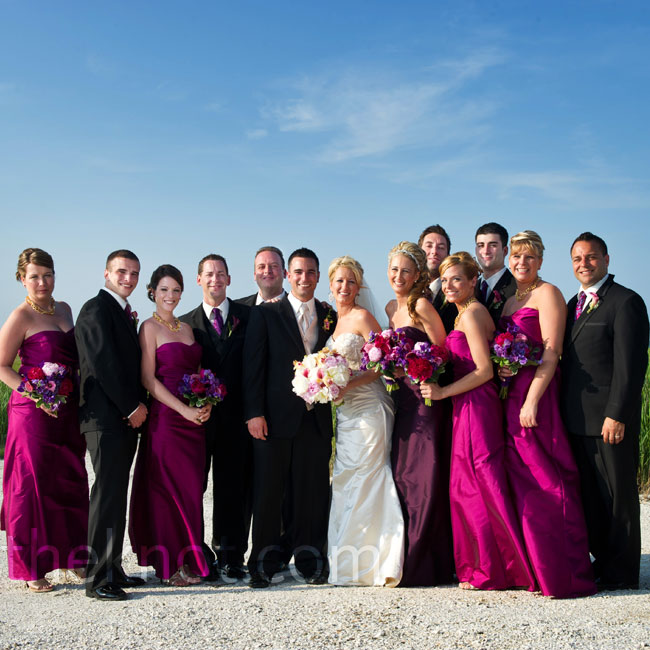 The groomsmen's 